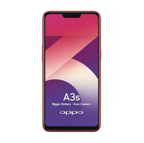 Oppo A3s (32GB, 3GB) Red