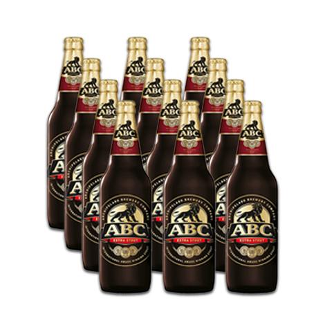 ABC Extra Stout Bottle 640ml (12)