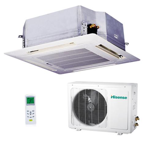 HISENSE 2.0HP Ceiling Cassettes Type Air Conditioner ( AC-18CR4FA )