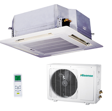 HISENSE 3.0HP Ceiling Cassettes Type Air Conditioner ( AC-24CR4FA )
