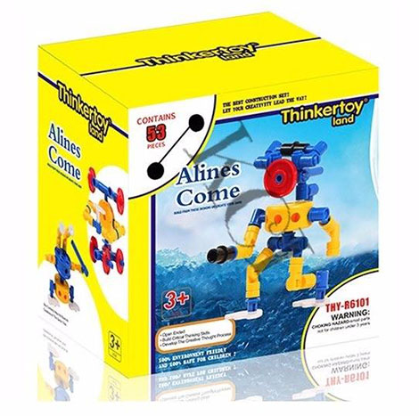Educational Thinker Toy Alies Come (Thy- R6101)