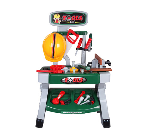 Children Toltec Game Large Tool Set Station & Screwdriver Little Engineer (3-6 years Old) (CH-357)