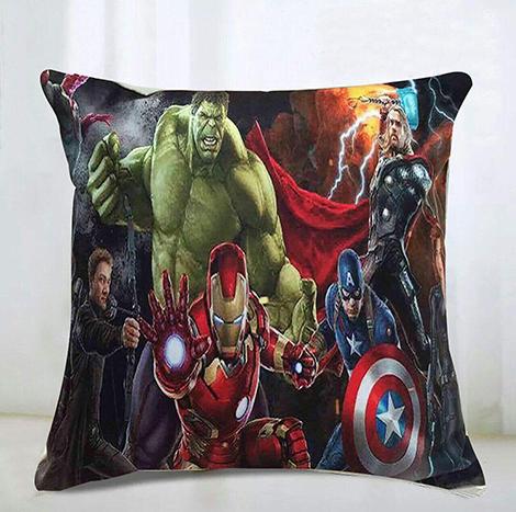 Memo Avenger Pillow