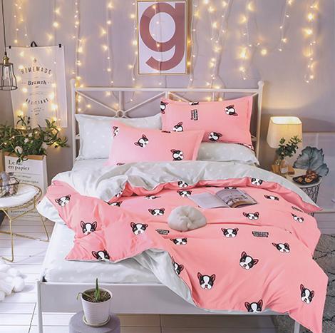 Amazing One Bedsheet Set Mixed Cotton With Design (AZMYB3S )