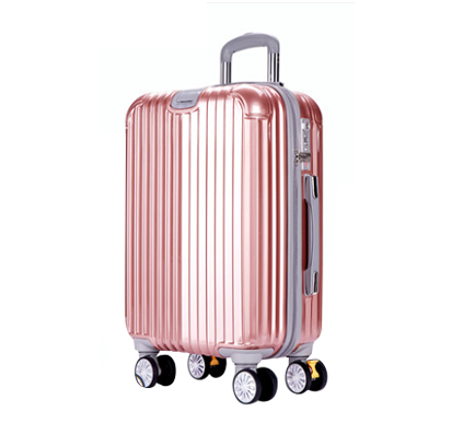 Zosden Net Red Password Trolley Bag Universal Wheel Luggage Travel Box Korean Version 20 Inch 24 Inch Men and Women 28, Rose Gold