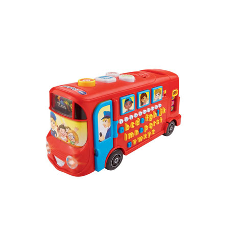 Vtech Playtime Bus with Phonics (TTVTF64803) (1 Pcs)