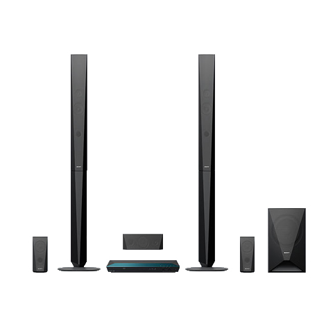 SONY Blu-ray Home Cinema System with Bluetooth ( BDV-E4100 )