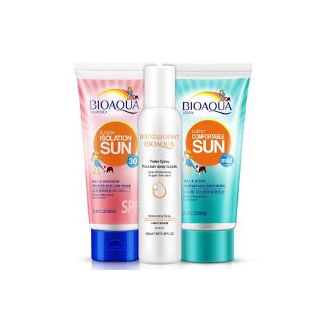BIOAQUA 3 Steps Sunscreen Spray Lotion ( CS0005 )
