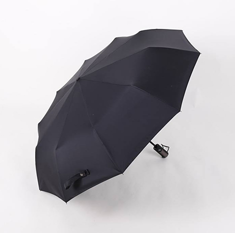First Place Black Automatic Umbrella