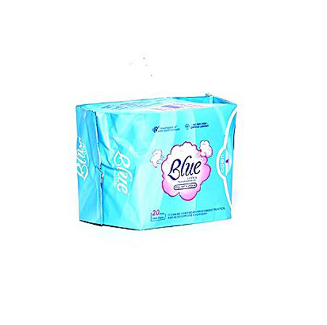 Blue Sanitary Pantyliner PFP 155mm - 20's (728 Daily Blue )