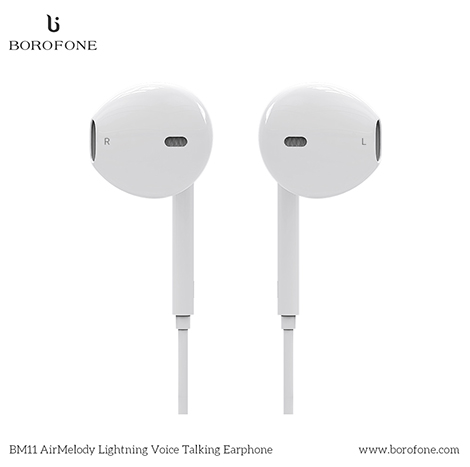 Borofone AirMelody Bluetooth Voice Talking Lightning Earphone ( BM11 )