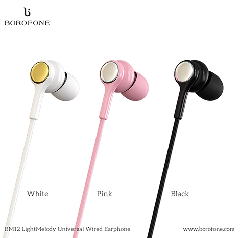 Borofone LightMelody 3.5mm Wired Control Earphone (BM12)