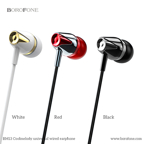 Borofone CoolMelody 3.5mm Wired Control Earphone ( BM13)