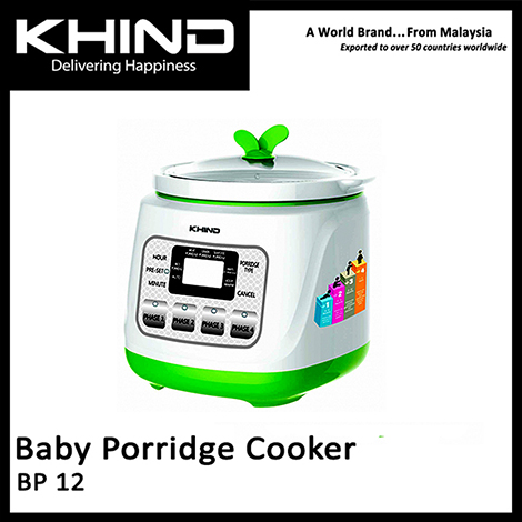 KHIND Multi Baby Porridge Cooker 1.0L ( BP12 )