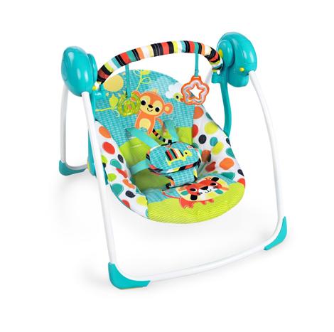 Bright Starts Kaleidoscope Safari Portable Swing (BBBS10624) (1 Set)