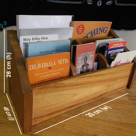 Nicco Brochure and book stand