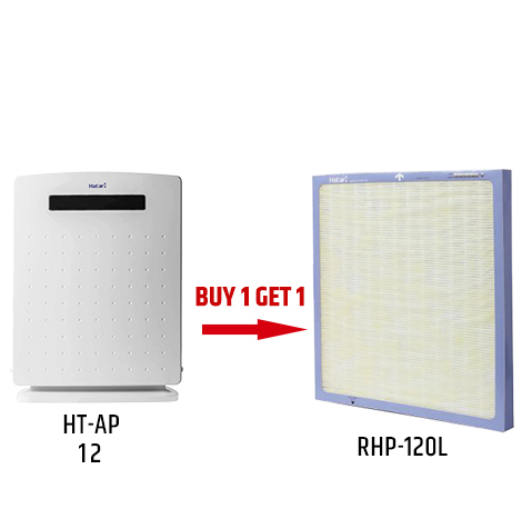 HATARI Remote Control Air Purifier ( HT-AP12 )