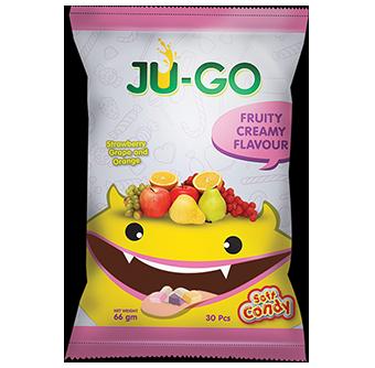 JU-GO Fruity Creamy Soft Candy ( 66g )