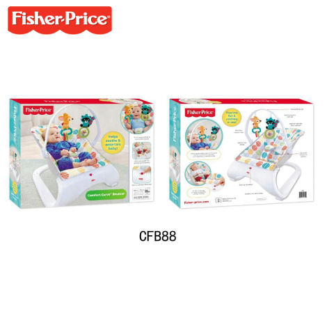 aa61137ee Shopmyar - Fisher-Price Woodland Friends Comfort Curve Bouncer (CMV29)