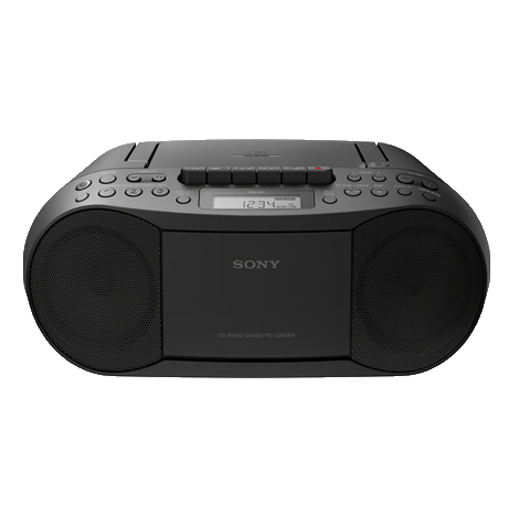 SONY CD/Cassette Boombox with Radio ( CFD-S70 )