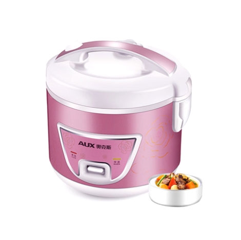 AUX Household 3L Rose Silver Multifunction Rice Cooker (3-4Pax) (CFXB30-10)