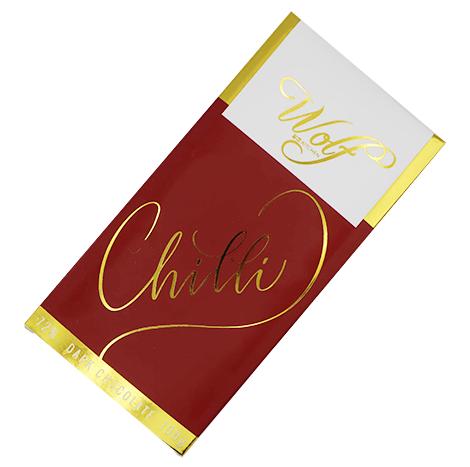 Wolf Chili Dark Chocolate (100g)