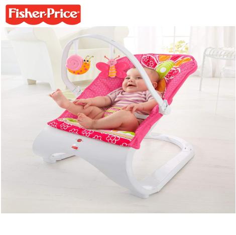 Fisher-Price Comfort Curve Bouncer Floral Confetti (CHN07)
