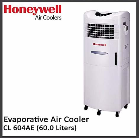 HONEYWELL Climate Control Evaporative Air Cooler 60L ( CL 604AE )