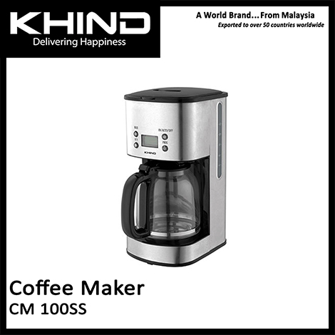KHIND Coffee Maker ( CM 100SS )
