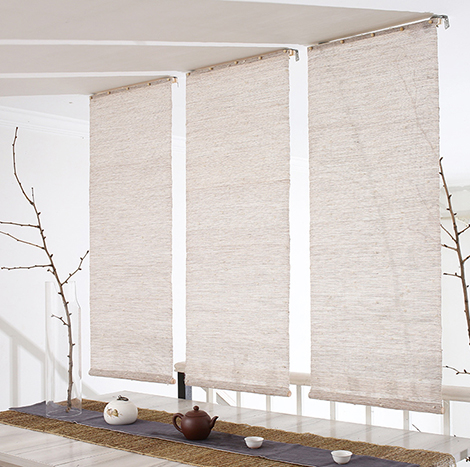 NICCO Kenaf Ramie Linen Fabric for Curtain ( CRN-04 )