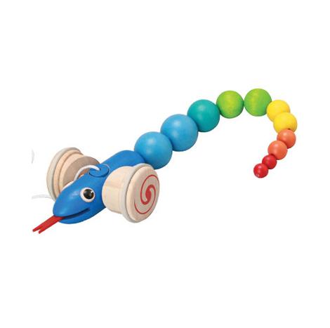 Monument Plan Toys Pull-Along Snake (8854740051097)