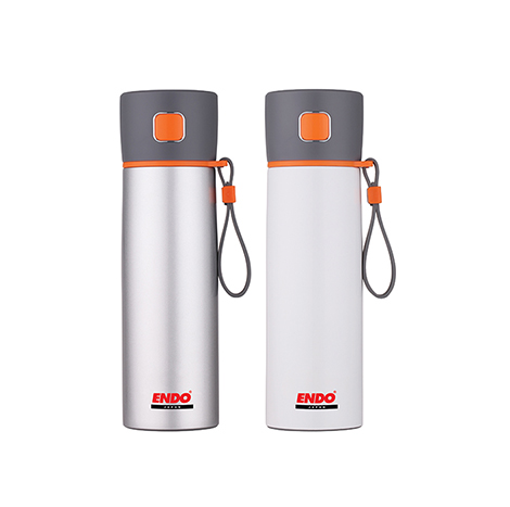 Endo 500ml Anti Bacterial Double Stainless Steel Mug - ( CX-1002 )