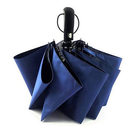 First Place Dark Blue Automatic Umbrella