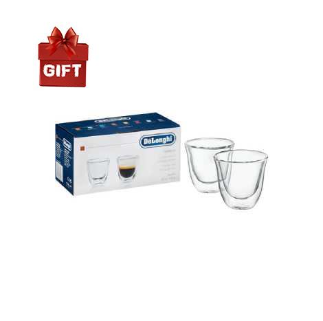 Delonghi Double Wall Glass Espresso 60ml ( DBWALLESP )