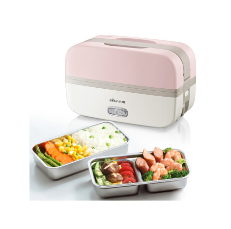 BEAR plugged in electric Insulation double layer LUNCH BOX (DFH-B10J2)