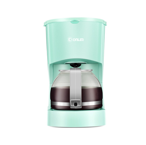 Donlim Automatic American Drip 600ML Coffee Machine (DL-KF200GR) Green