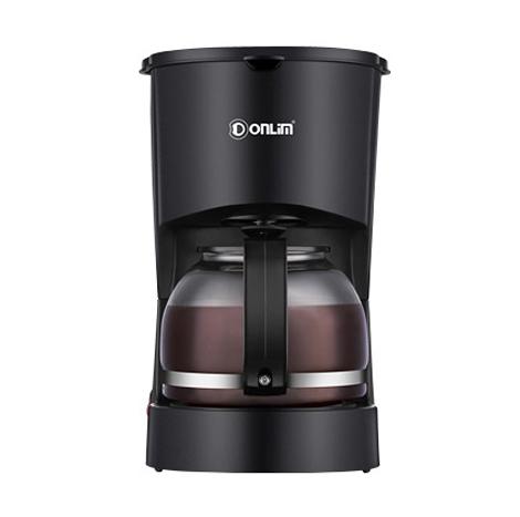 Donlim Automatic American Drip 600ML Coffee Machine (DL-KF20) Black