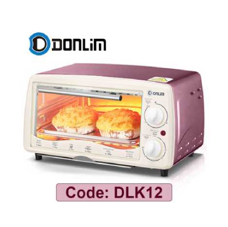 DONLIM Multi-function Automatic 12Liter Temerature Control Electric Oven (DLK12)