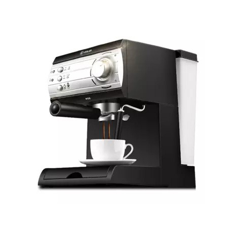 Donlim Automatic Commercial Steaming Milk Foam Italian Espresso Machine Black (DLKF6001)