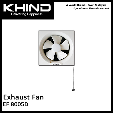 KHIND 8 Inch Exhaust Fan ( EF 8005D )
