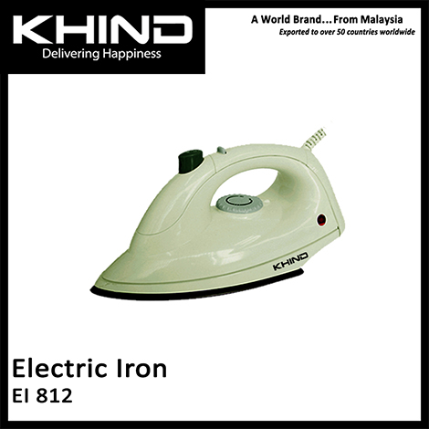 KHIND Electric Iron ( EI 812 )