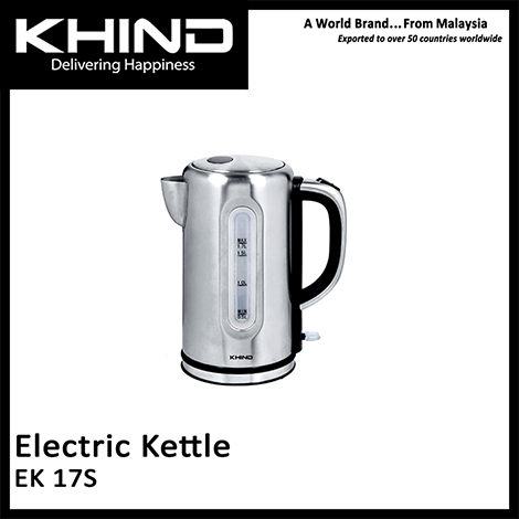 KHIND Electric Kettle ( EK 17SS )