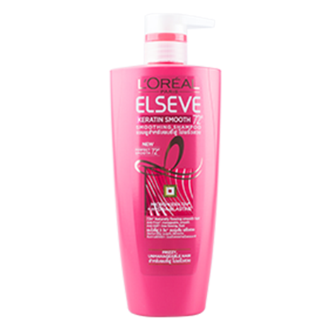 L'oreal ELS KERATIN SMOOTH SHMP Shampoo ( 650ML )