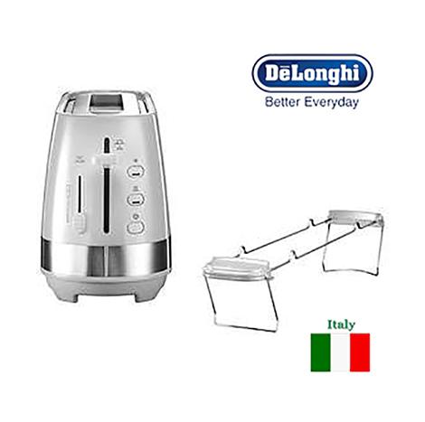 DeLonghi 2 Slice Toaster (CTLA 3103.White)