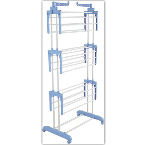 95 Myanmar 3 Shelf Clothes Rack (CDR - 0402 A)