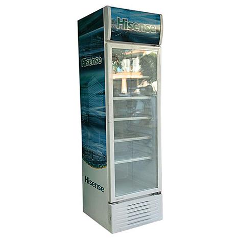 Hisense Glass Door Beverage Cooler (FL-51WC4HAA (383 Lit)) sticker