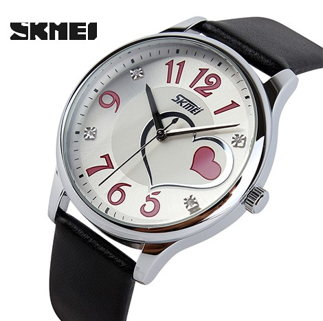SKMEI FORMAL QUARTZ VALENTINE WOMEN'S WATCH (9085)