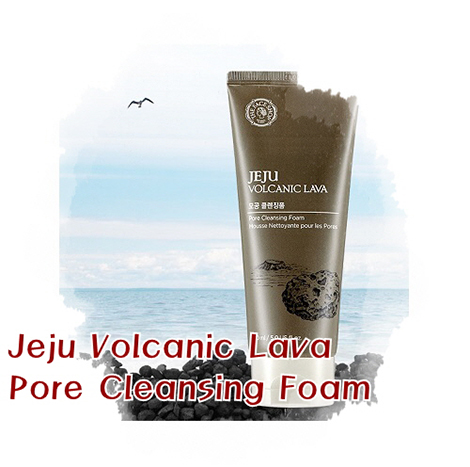 The Face Shop Jeju Volcanic Lava Pore Cleansing Foam 150ml (FSS-13CF)