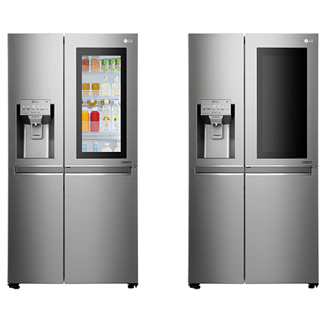 LG InstaView Door In Door Refrigerator (GCX247CSAV)