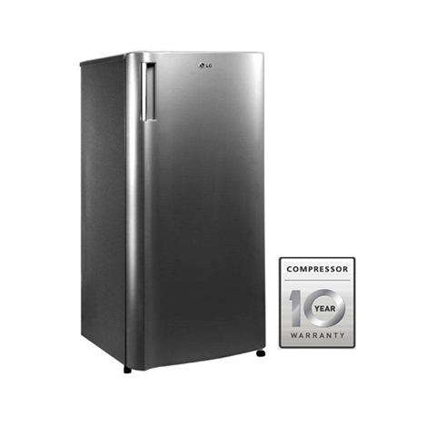 LG One Door Refrigerator with Larger Capacity (GNY201SLBB)